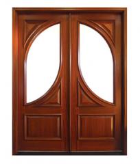 Barcelona Wood Door