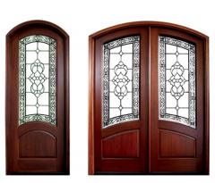 Aberdeen Lake Norman Wood Door