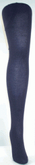 Super Wash Wool Tights For Women Navy