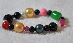 Bracelet with various color