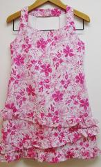 Florence Eiseman Ruffle Halter Dress