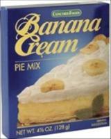 Cream Pie Mix Banana