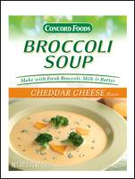 Cheddar Cheese Broccoli Soup Mix