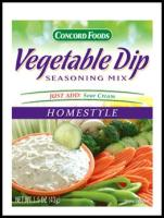 Vegetable Dip Homestyle Mix