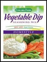 Buy Vegetable Dip Homestyle Mix