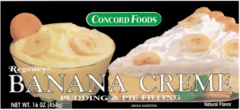 Cream Pudding & Pie Filling Banana