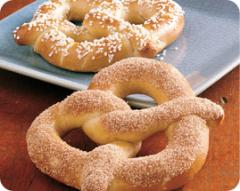 Gourmet Twists® Topped Soft Pretzels