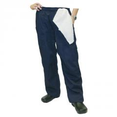 Grunge Cargo Chef Pants in Navy