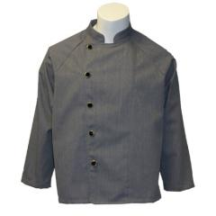 Evans Server Coat in Heather Grey