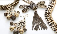 Metal Costume Jewelry
