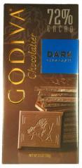 3.5 oz.  -  Godiva Dark Bars