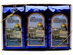 Cafe Jerusalem, Kosher Gourmet Coffee Sampler Gift