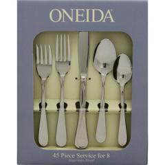 Oneida Flight 45 Piece Set-2865045A Flatware