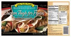 Chicken Thigh for Fajitas