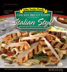 Italian Style Chicken Strips