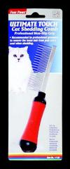 Ultimate touch shedding comb for cats