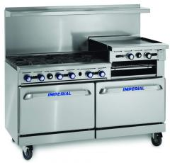 "60"" Gas Restaurant Ranges"