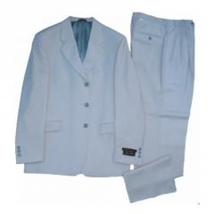 Smooth Wool Suit Blazer And Pants