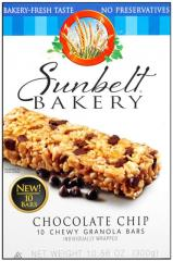 Sunbelt Bakery® Chocolate Chip Chewy Granola Bars