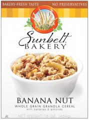 Sunbelt Bakery® Banana Nut Whole Grain Granola Cereal