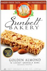 Sunbelt Bakery® Golden Almond Chewy Granola Bars