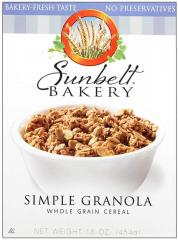 Sunbelt Bakery® Simple Whole Grain Granola Cereal
