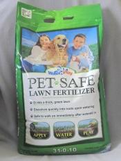 31-0-10 Pet Safe Lawn Fertilizer