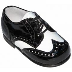 Croco Print Patent Leather Shoes