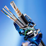Round system cables for robots and automation systems Axomove®