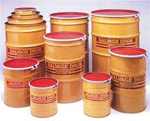 Drums, Steel & Plastic Salvage and