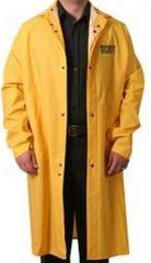 LONG Raincoat V/ Security ID