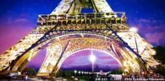 Eiffel Tower Backdrop