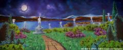 Moonlight Garden Backdrop