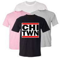 CHI TWN Adult T-Shirt
