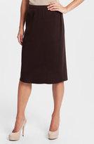 Ming Wang Basic Knit Skirt