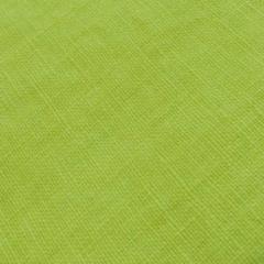 "100% ""Laundered"" Linen - Yellow-Green"