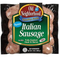Sweet Italian Sausage Precooked