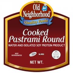 Pastrami Round