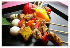 Chicken Kabob & Chicken Sate