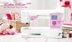 EDEN ROSE™ 250C computerized sewing machine