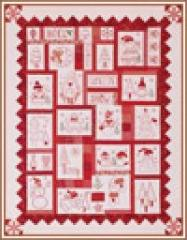 Holiday Redwork Machine Embroidery Software