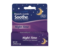 Bausch + Lomb Soothe Night Time Lubricant Eye