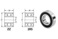 6020 - Extra Light Duty Ball Bearing - 100 mm Bore
