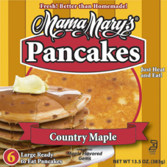 Country Maple Pancakes
