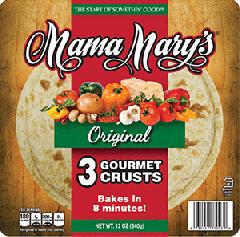 "Mama Mary's 7"" Original Crusts"