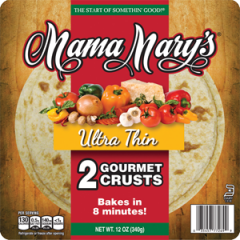 "Mama Mary's 12"" Ultra Thin Gourmet"