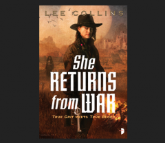 She Returns From War Collins, Lee Book