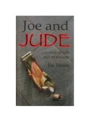 Joe and Jude by Joe Weiser Book