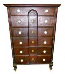 1800's Mahogany Empire Dresser