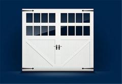 5500/5800 Fiberglass Faced Carriage House Collection Garage Door